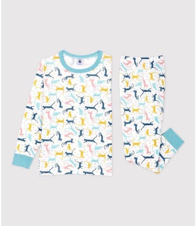 Petit Bateau Jongens/ Meisjes Pyjama Multicolor