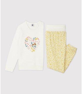 Petit Bateau Meisjes Pyjama Marshmallow