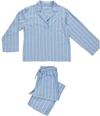 Dorélit Dames PJ-set Femia Alkes Stripe Blue