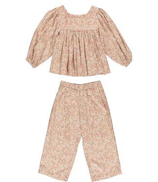Dorélit Pyjamaset Girls Faith Alkes Print Flower