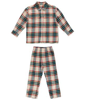 Dorélit Pyjamaset Floor Venus Check Multi