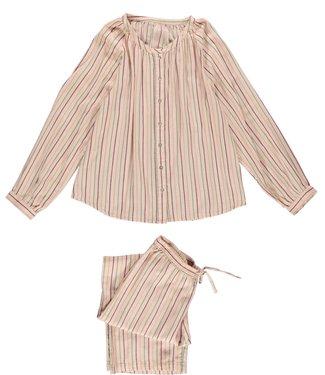 Dorélit Dames PJ-set Fynn Alkes Stripe Pink