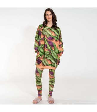 Snurk Fresh Leaves Sweater Dress Women