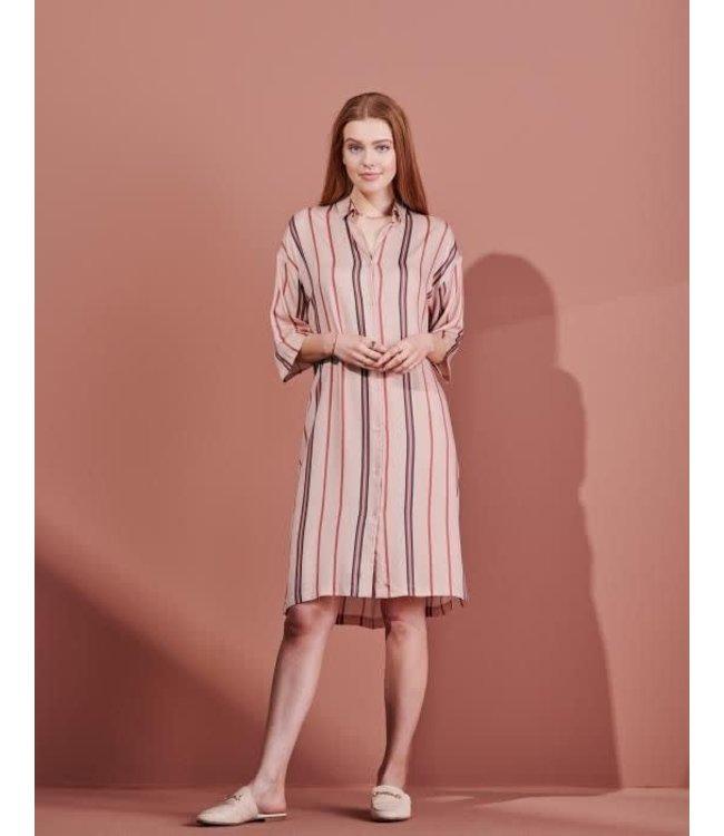 Essenza Blair Meryl Nightdress 3/4 Sleeve Rose