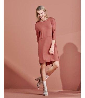 Essenza Lykke Uni Nightdress 3/4 Sleeve Marsala