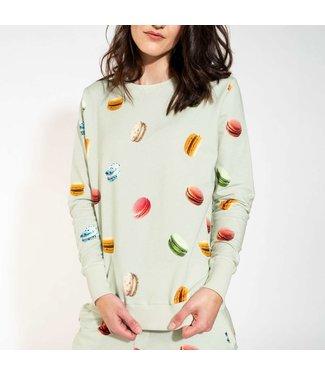 Snurk Macarons Green Sweater Women