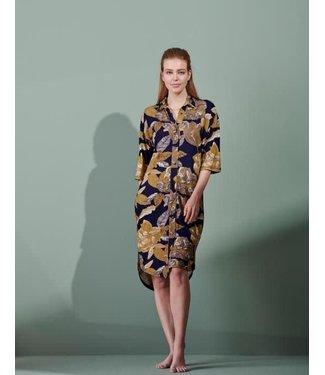 Essenza Blair Gwyneth Nightdress 3/4 Sleeve Nightblue
