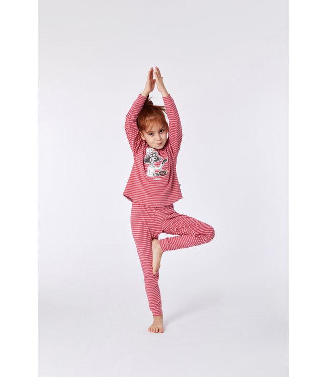 Woody 212-1-PZG-Z923 Meisjes pyjama