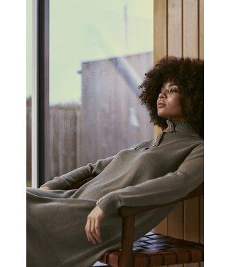 Lounge Nine Evnia Knit Dress Vetiver Melange