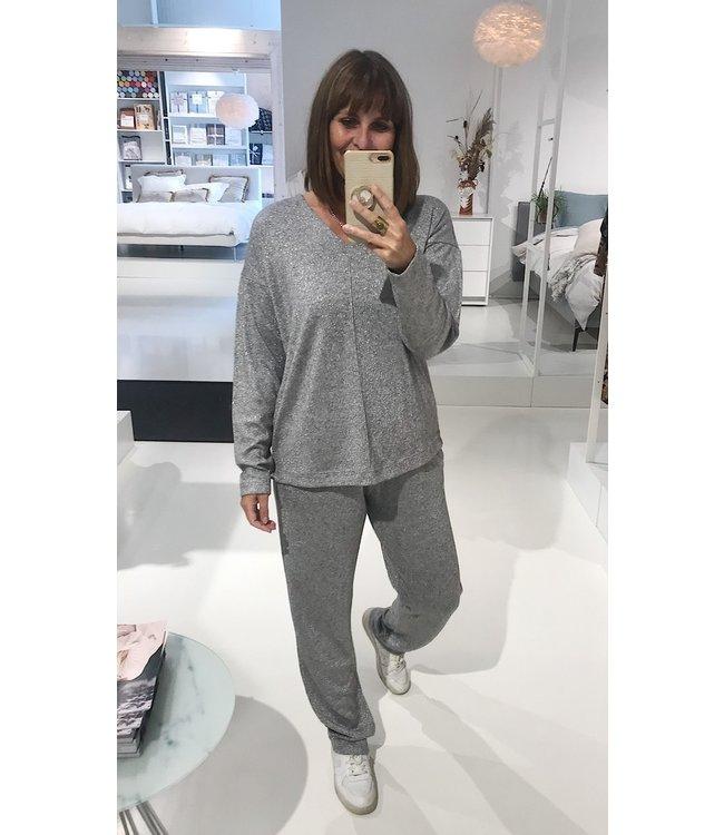 Pluto Nioma Homewear Set Silver