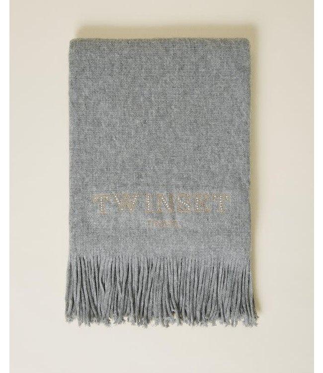 Twin-Set Sjaal Grigio Melange