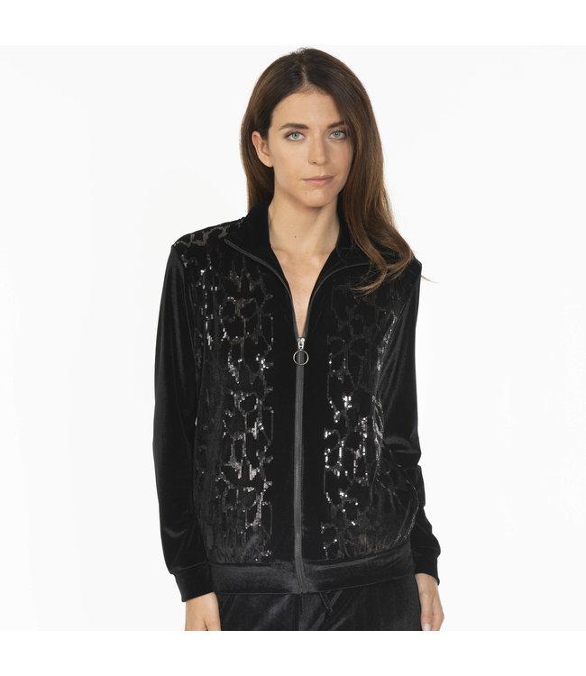 Valery Luxury Homewear Set Nero