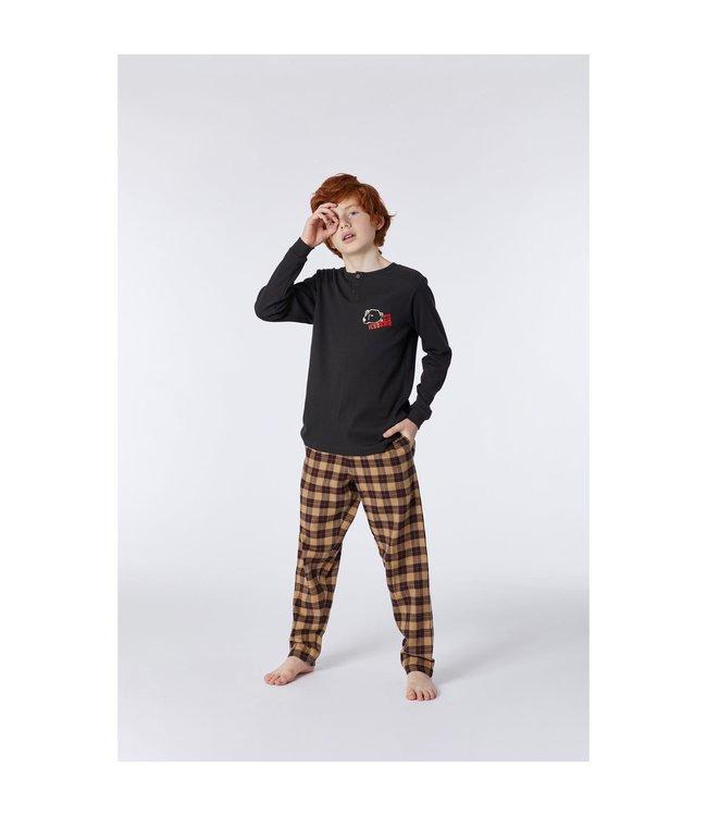 Studio Woody 212-2-QPD-R193Jongens-Heren pyjama