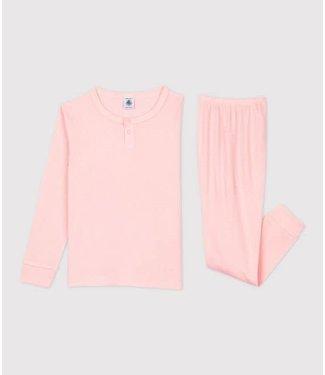 Petit Bateau Meisjes Pyjama Roze Minois