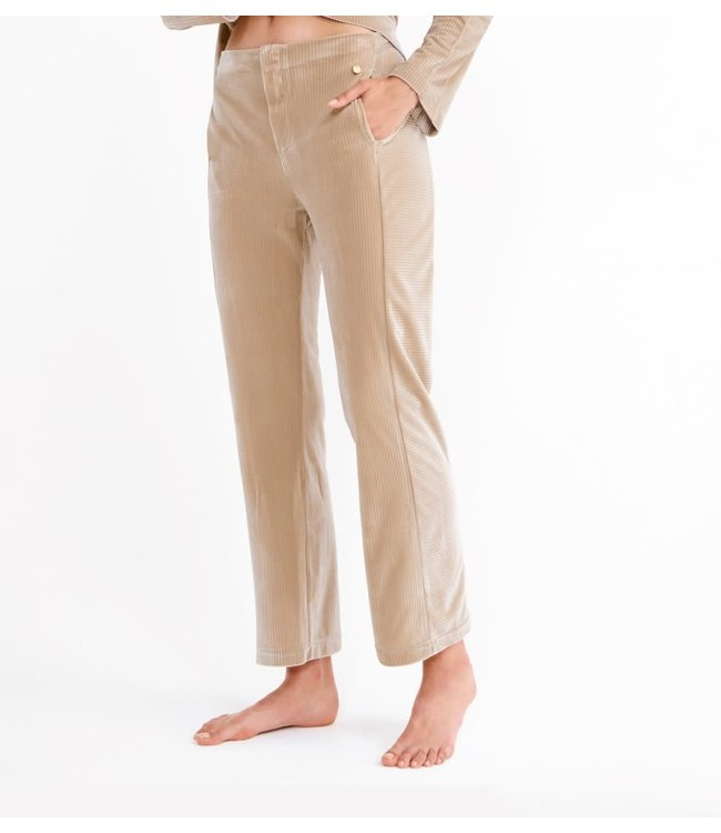 Lords & Lilies 212-5-LHC-V229Dames broek Taupe