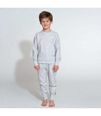 Snurk Uni Grey Sweater Kids