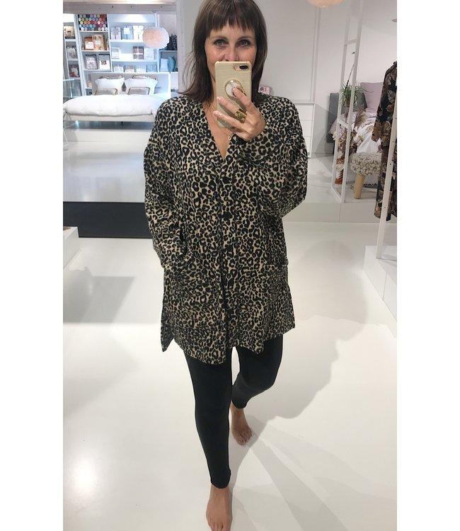 DKNY Cardigan&Legging Cozy Capsule Brown/Animal