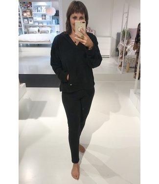 DKNY Top&Legging Cozy Capsule Black