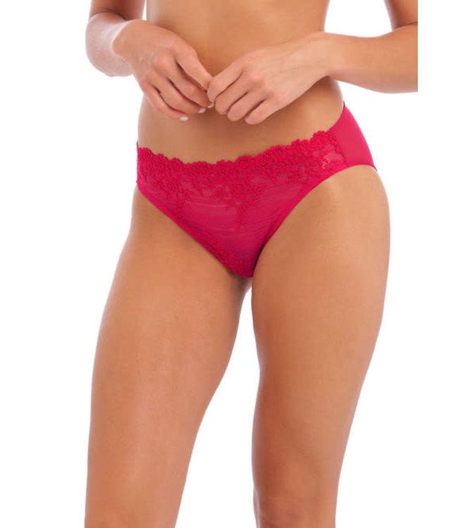 Wacoal Embrace Lace Persian Red Bikini Brief