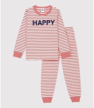 Petit Bateau Meisjes Pyjama Marinière