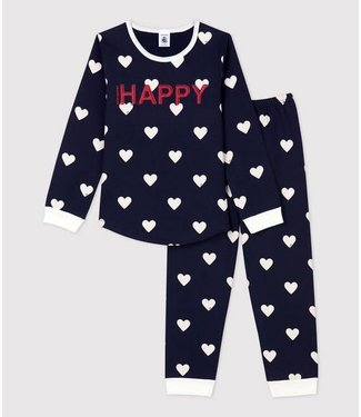 Petit Bateau Meisjes/ Jongens Pyjama Smoking