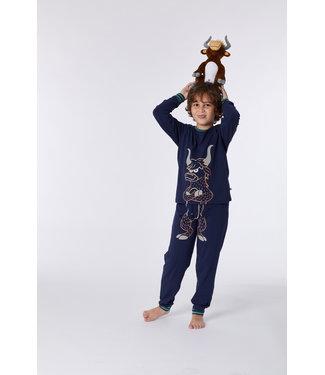 Woody 212-1-PLE-Z/885Jongens-Heren pyjama