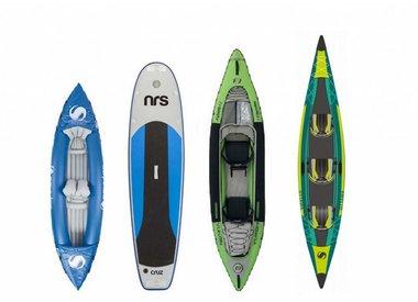 Opblaasbare kano's, kajaks en SUP's