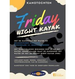 Kanoshop FRIDAY NIGHT KAYAK