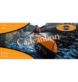 Kanoshop Webwinkel  Cadeaubon | vanaf €5,-
