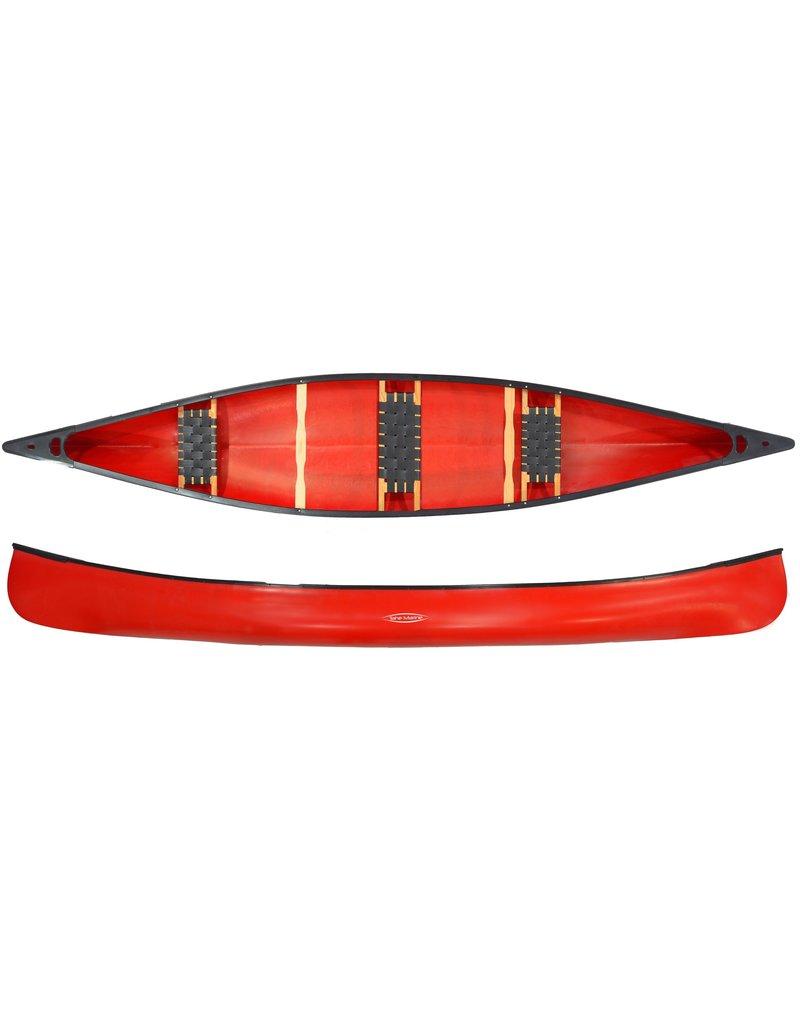 Tahe Marine Tahe Dakota PE Gezins Kano Red