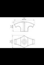 Kajaksport Reccessed Deckfitting 5mm