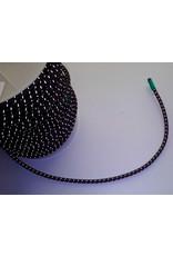 Kajaksport Deklijn Elastiek met Reflectie strepen - 5mm (per meter)