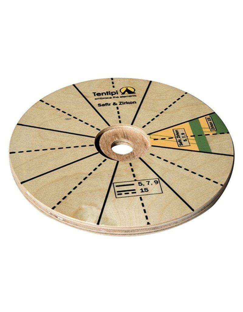 Tentipi 12704 Pole Plate