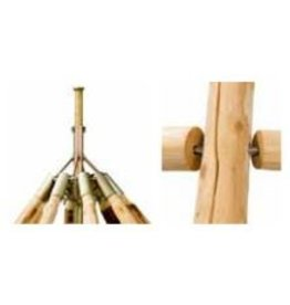 tentipi Tentipi 11154 ADV 15 Wooden Pole Set