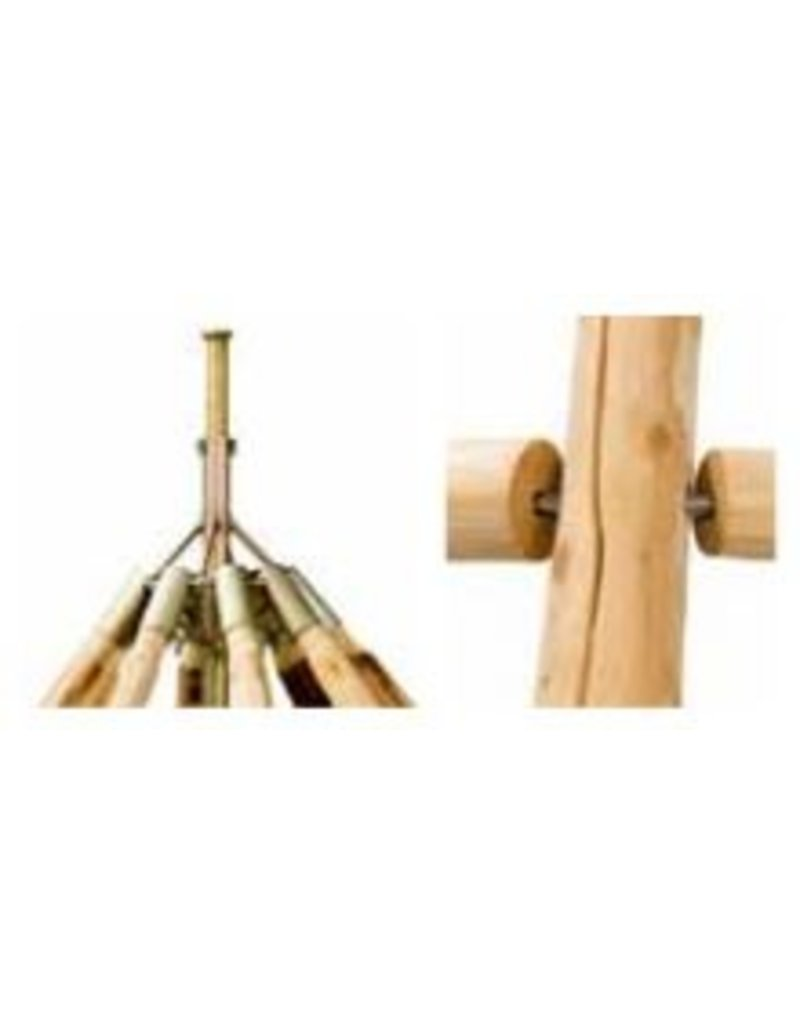 tentipi 10704 ADV 7 Wooden Pole set