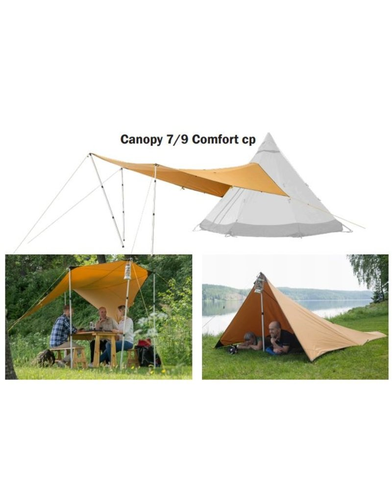 tentipi 11701 Canopy 7/9 Comfort CP