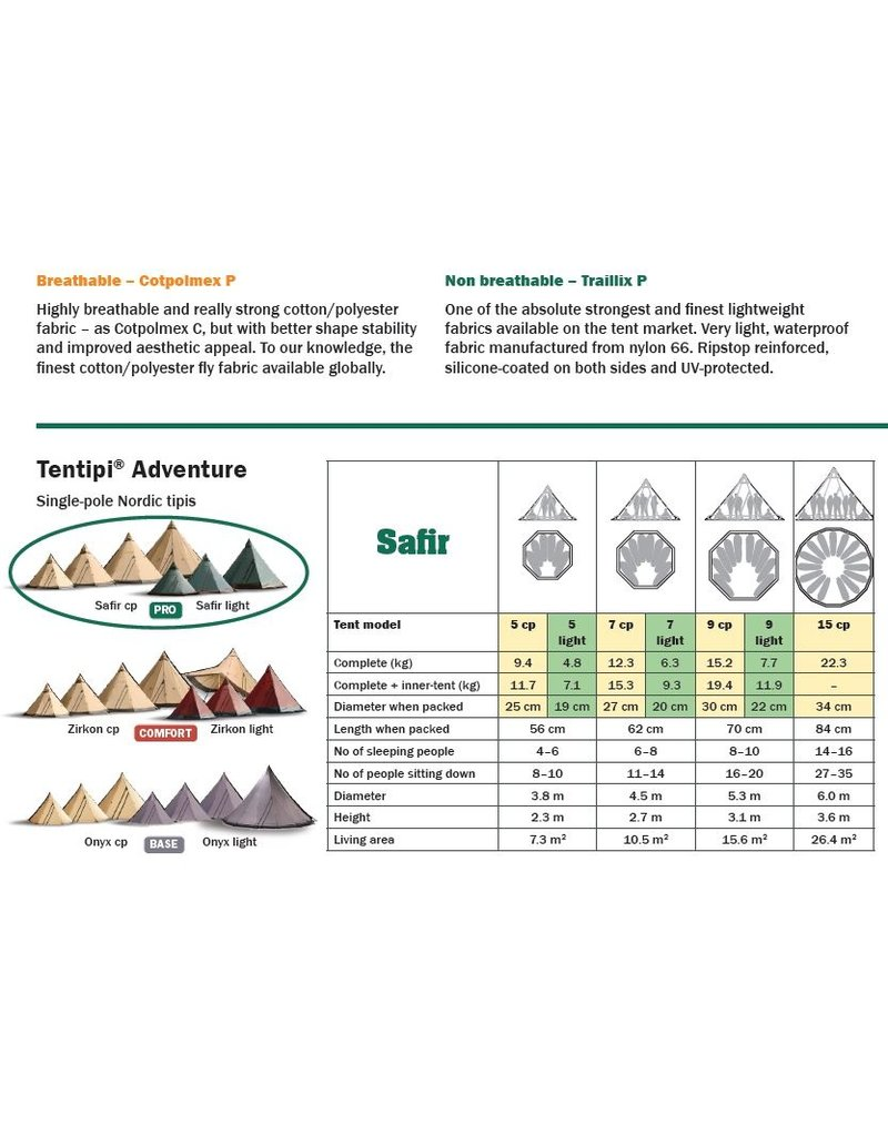 Tentipi 10450 Safir 5 Light