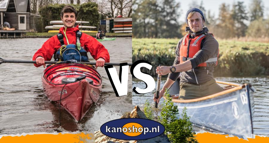 Verschil  kano en kajak