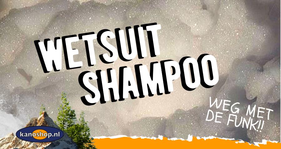 Wetsuit shampoo | Weg met de wetsuit funk!