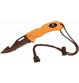 Beaver Flo Orange Venture Fold-Up Knife