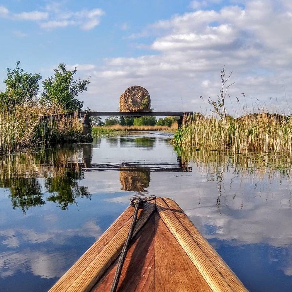 In 6 dagen 333 km kanovaren van Rotterdam naar Lauwersoog