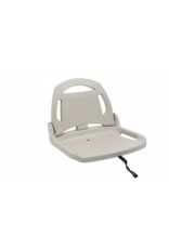 Pelican grey front folding seat supports canoe 14.6