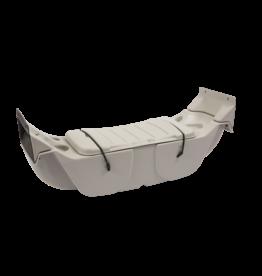 Pelican Brown Cooler Seat Canoe 14.6