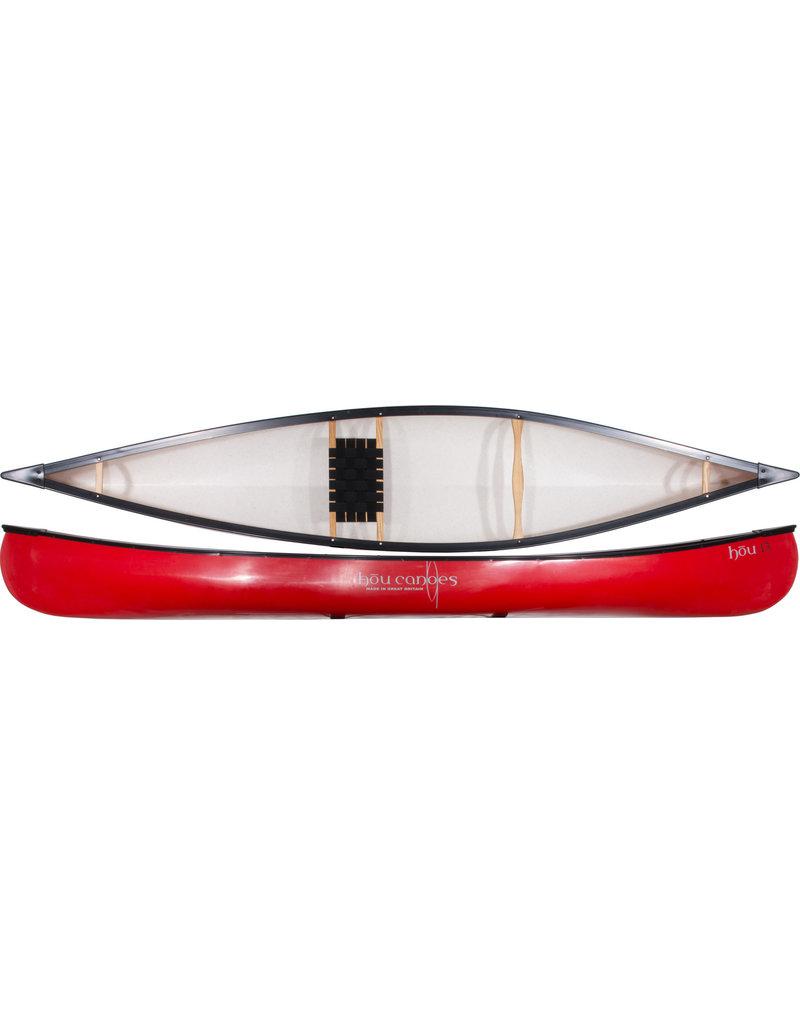 Hou Canoes hōu 13 ft, Red
