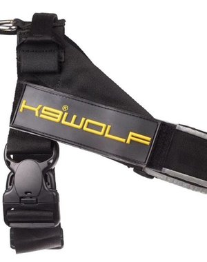 K9 Evolution Belt Harness black
