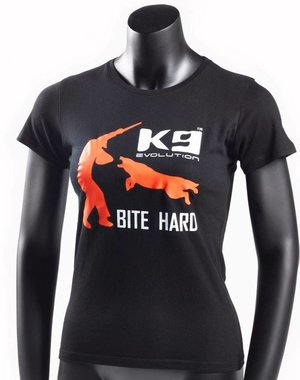 K9 Evolution T-shirt Lady K9 Bite Hard