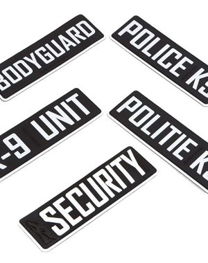 K9 Evolution K9 Tekstlabel voor Harnas & COP halsband