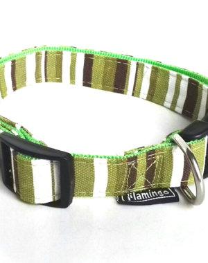 Karlie Sparta Halsband 15mm 25 - 30 cm Groen