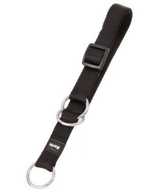 Karlie Art Sportiv Halsband met Stop 25mm 45 - 70 Zwart