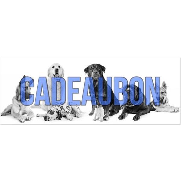 Hondensport-Artikelen Cadeaubon Hondensport-Artikelen